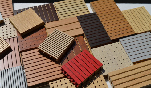 Acoustic Wood Panels