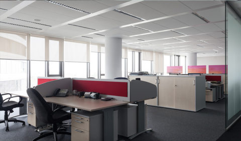 Acoustic Solutions for Offices