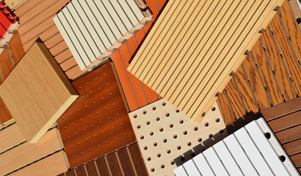 Micro Perforated Acoustical Panel MDF Board for Assembly Hall